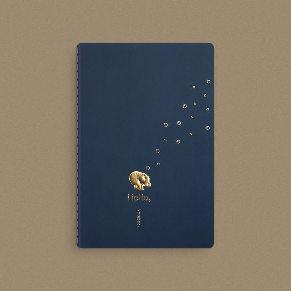 Rounded-Book-Blue-Simple-Stitch