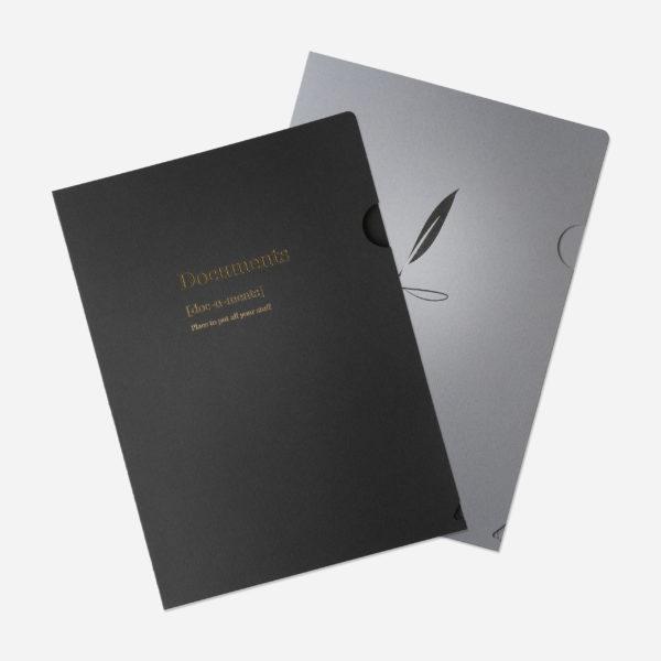 papperix-folder-svart-silver