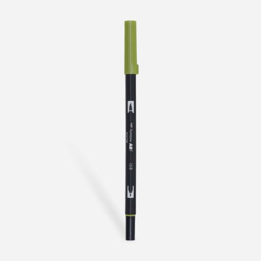 158 Mörk olivgrön